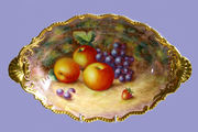 ROYALWORCESTER HAND PAINTED FRUIT ITEMS