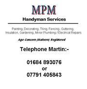 Malvern based Handyman - MPM Handyman Services