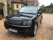 2009 Land Rover LAND ROVER RANGE ROVER SP HSE TDV8 A BLACK FACE LI