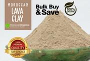 Ghassoul Moroccan lava clay Powder