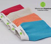 Moroccan kessa hammam exfoliating glove